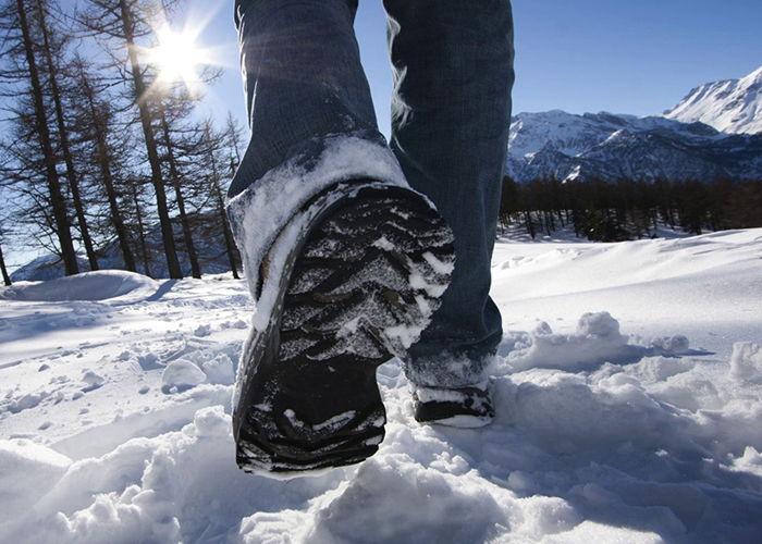Что сделать чтобы обувь не скользила зимой
