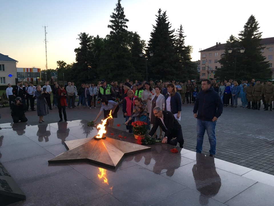В Тольятти состоялся Митинг Памяти и Скорби