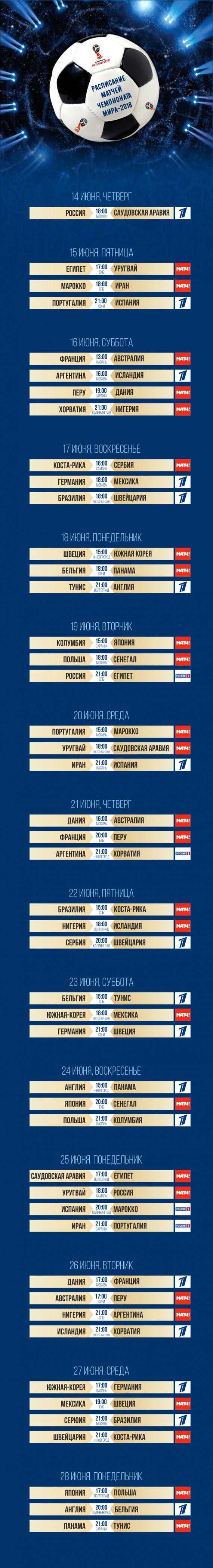 В «Лужниках» сегодня стартует первый в истории России ЧМ по футболу. РАСПИСАНИЕ ЧЕМПИОНАТА и стоимость команд