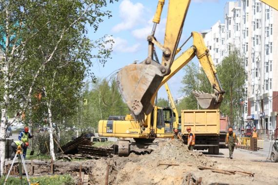 «Тепловые сети Сургута готовят к новому отопительному сезону»