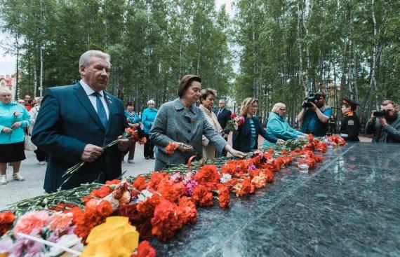 Лилия Сулейманова: По всей Югре прошли митинги, посвященные Дню памяти и скорби // ФОТО