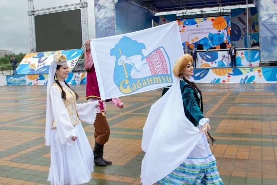 Лилия Сулейманова: И дождь нипочём: Сегодня в Сургуте прошел Сабантуй // ФОТОРЕПОРТАЖ