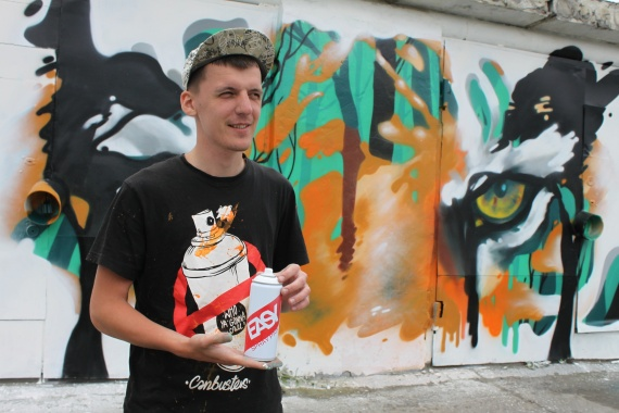 Участники «Гаражи феста» создадут стрит-арт-остановку и 50-метровое граффити в Сургуте