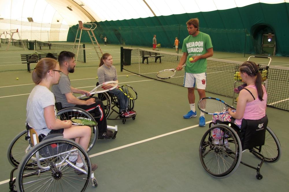 В Тольятти состоялся мастер-класс по теннису на колясках для юниоров Самарской области