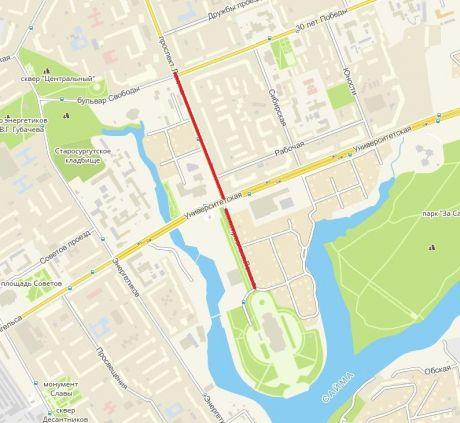 12 июня в Сургуте будет перекрыта часть дорог