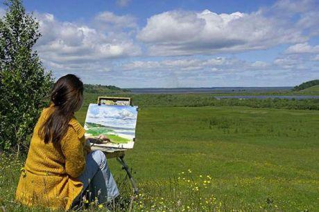Сургут — как с открытки! Молодые художники соберутся на пленэре, чтобы запечатлеть городские пейзажи для нового проекта