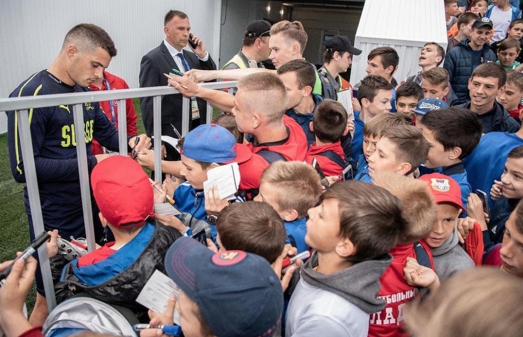 Теплый прием: Швейцарские футболисты считают Тольятти прекрасным местом для подготовки к чемпионату мира