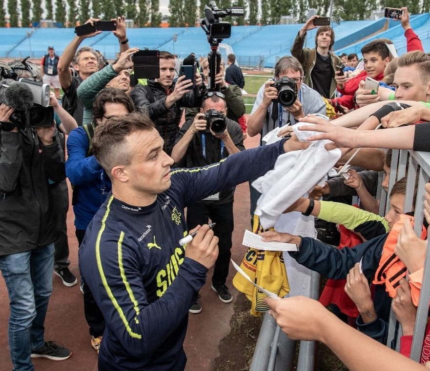 Появилось видео пребывания сборной Швейцарии в Тольятти
