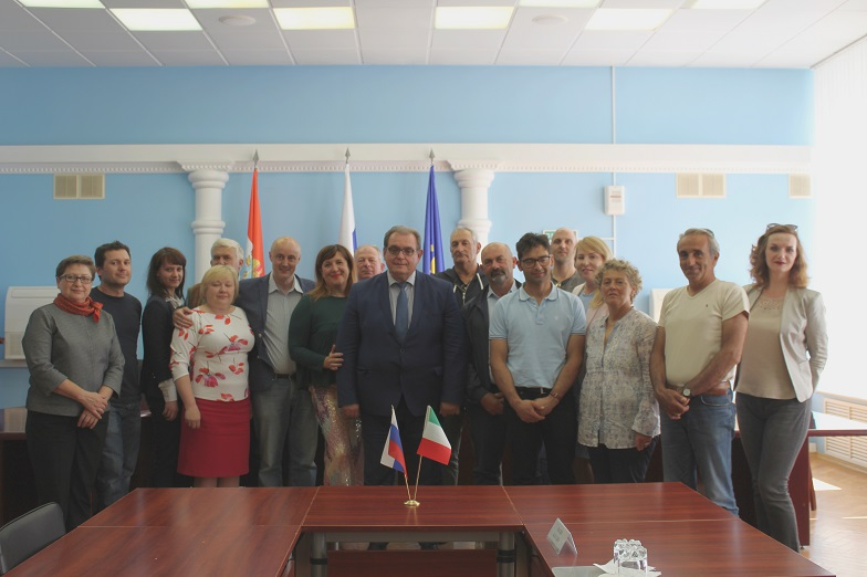 Итальянцы заинтересовались опытом работы фермеров из Тольятти