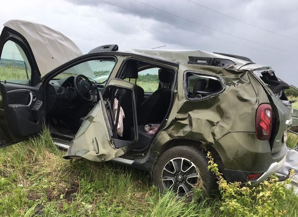 На трассе под Тольятти «Рено» вылетел в кювет. Погиб пассажир
