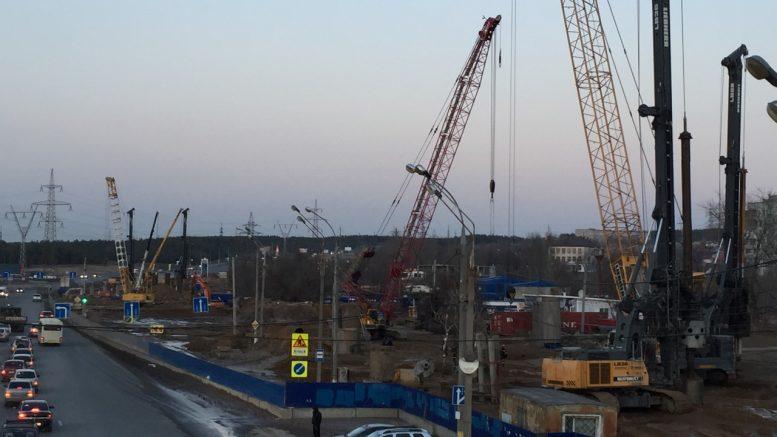 Комиссия Росавтодора проверит качество работ на строящейся развязке в Тольятти