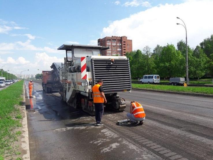 Ремонт дорог Тольятти выполнен на 63%