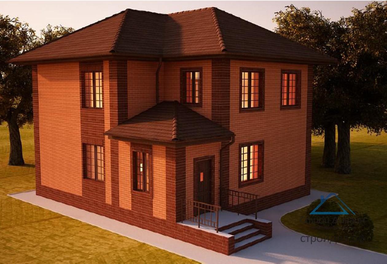 Особенности планирования дома в два этажа от компании СтройДизайн