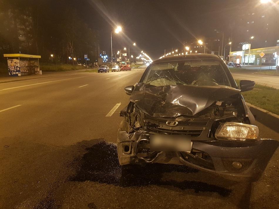 Водитель был пьян: Дети получили ушибы