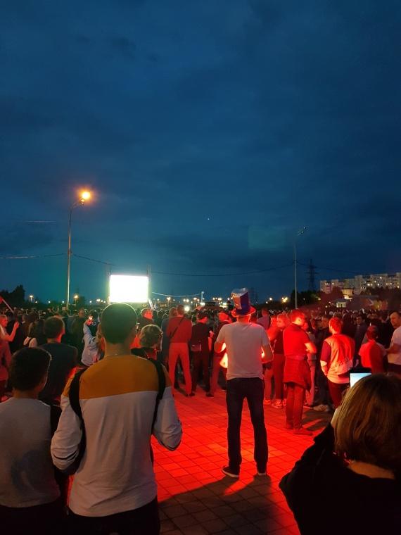 Как в Сургуте смотрят матч Россия-Хорватия // ФОТО, ВИДЕО