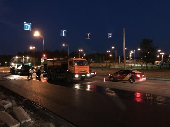 В Сургуте на проспекте Пролетарском начался ремонт дороги