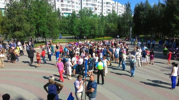 Лилия Сулейманова, Артем Мазнев: Как прошел первый митинг против повышения пенсионного возраста в Сургуте // ФОТО