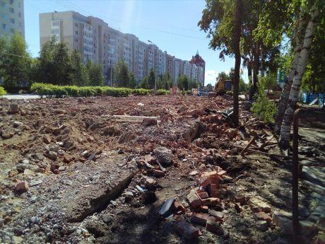 Первый офис информационного агентства СИА-ПРЕСС и газеты «Новый город» сравняли с землей