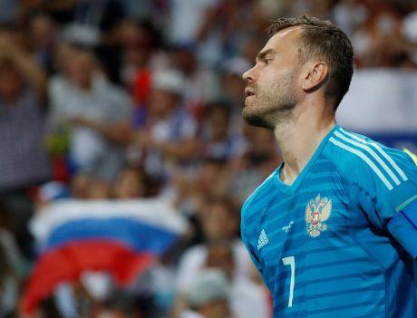 Сборная России проиграла в четвертьфинале ЧМ-2018