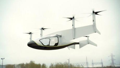 Почти как у Корбена Далласа: в Англии представили проект летающего такси