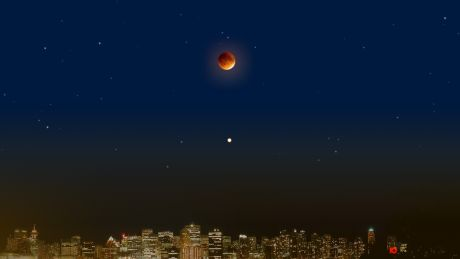 Югорчане увидят лунное затмение и великое противостояние Марса в один день