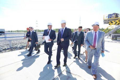 Знакомство с Югрой Николай Цуканов начал с объектов Владимира Богданова