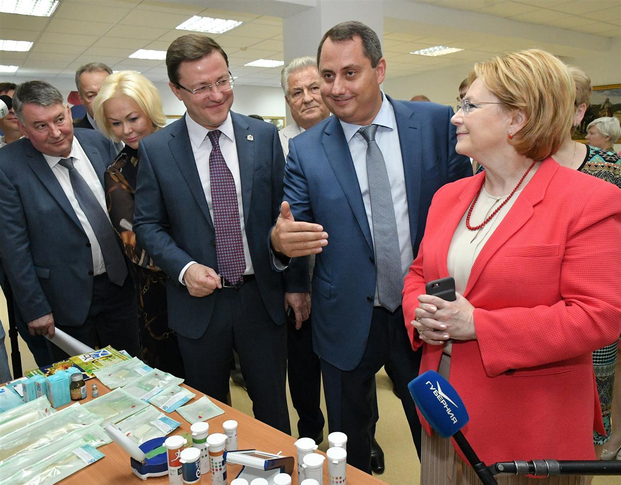 Министр здравоохранения РФ дала старт заседанию стратегической сессии «Сбережение народа» в Самарской области