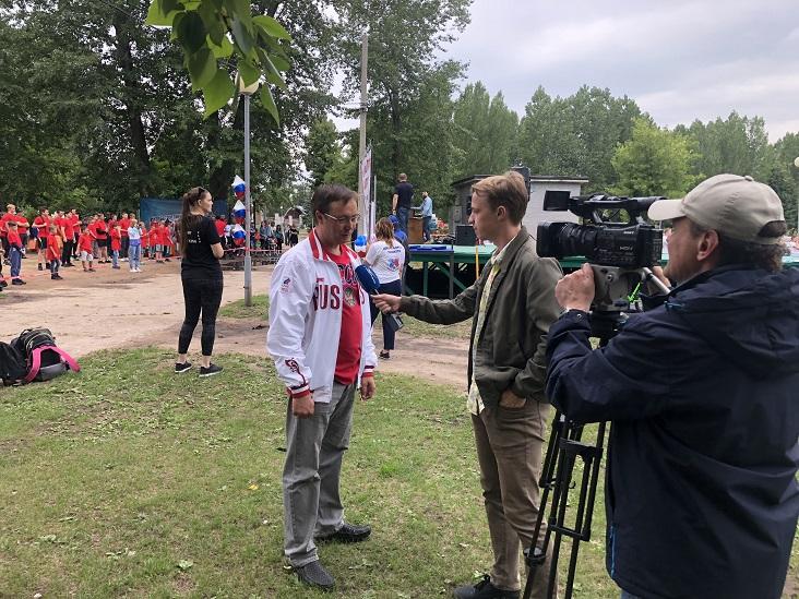 Дмитрий Микель: В нашем городе существуют многолетние спортивные традиции