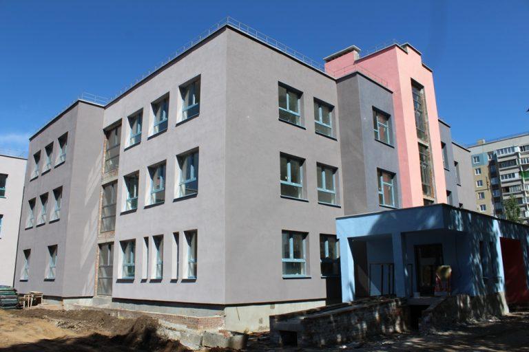 Новый детский сад в 20 квартале готовится к приему детей