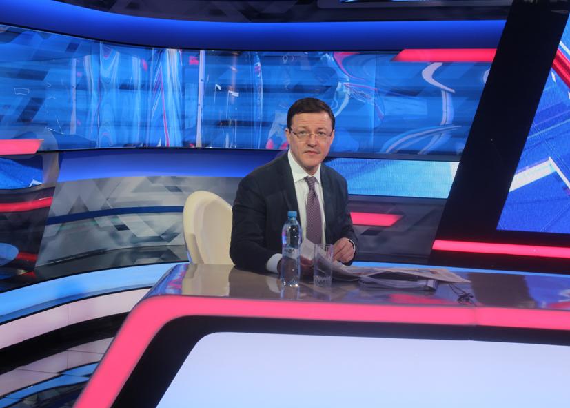 Глава Самарской области ответит на вопросы тольяттинцев в прямом эфире