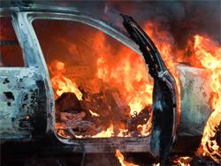 Тольяттинец ради мести случайно спалил чужой автомобиль