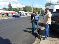 В Тольятти ремонтируют проблемные участки на улице Горького