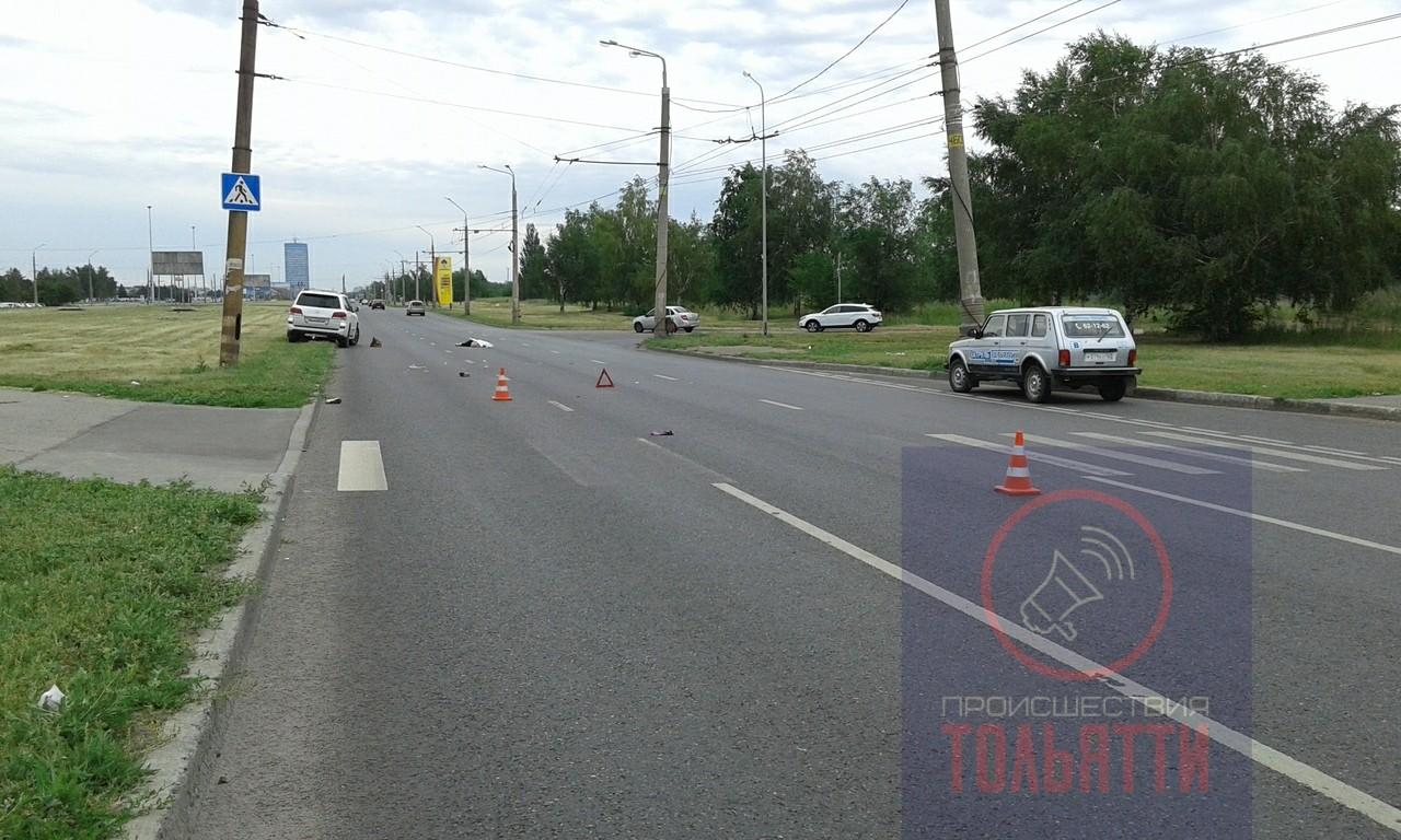 «Лексус» сбил насмерть женщину на Южном шоссе