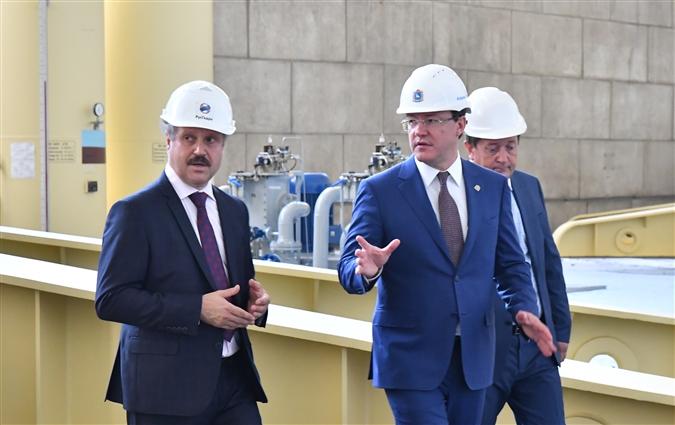 Глава региона обсудил с руководством Жигулёвской ГЭС планы модернизации предприятия