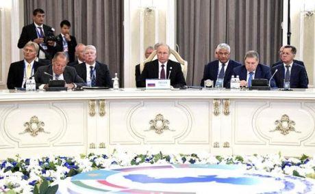 Лидеры пяти стран разделили Каспийское море