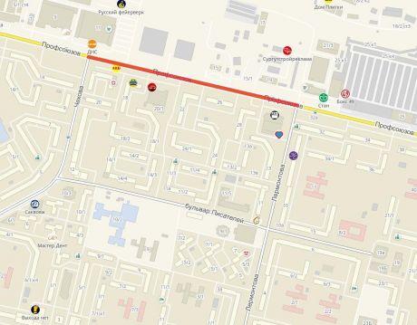 С 17 по 21 августа в Сургуте перекроют часть улицы Профсоюзов. Изменятся маршруты автобусов