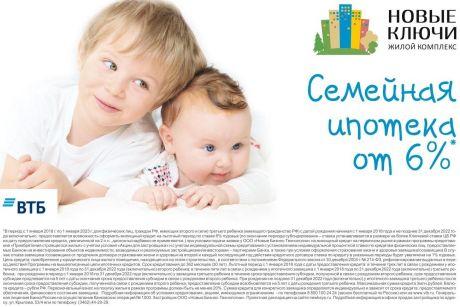 Изменились правила предоставления ипотеки для семей с детьми