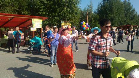 Лилия Сулейманова: В Сургуте проходит праздник «Урожай-2018» // ФОТО