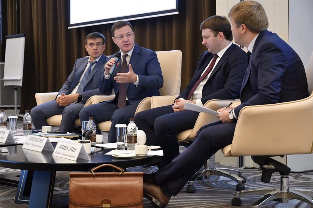 Министр Максим Орешкин поддержал идею проведения стратегических сессий в Самарской области