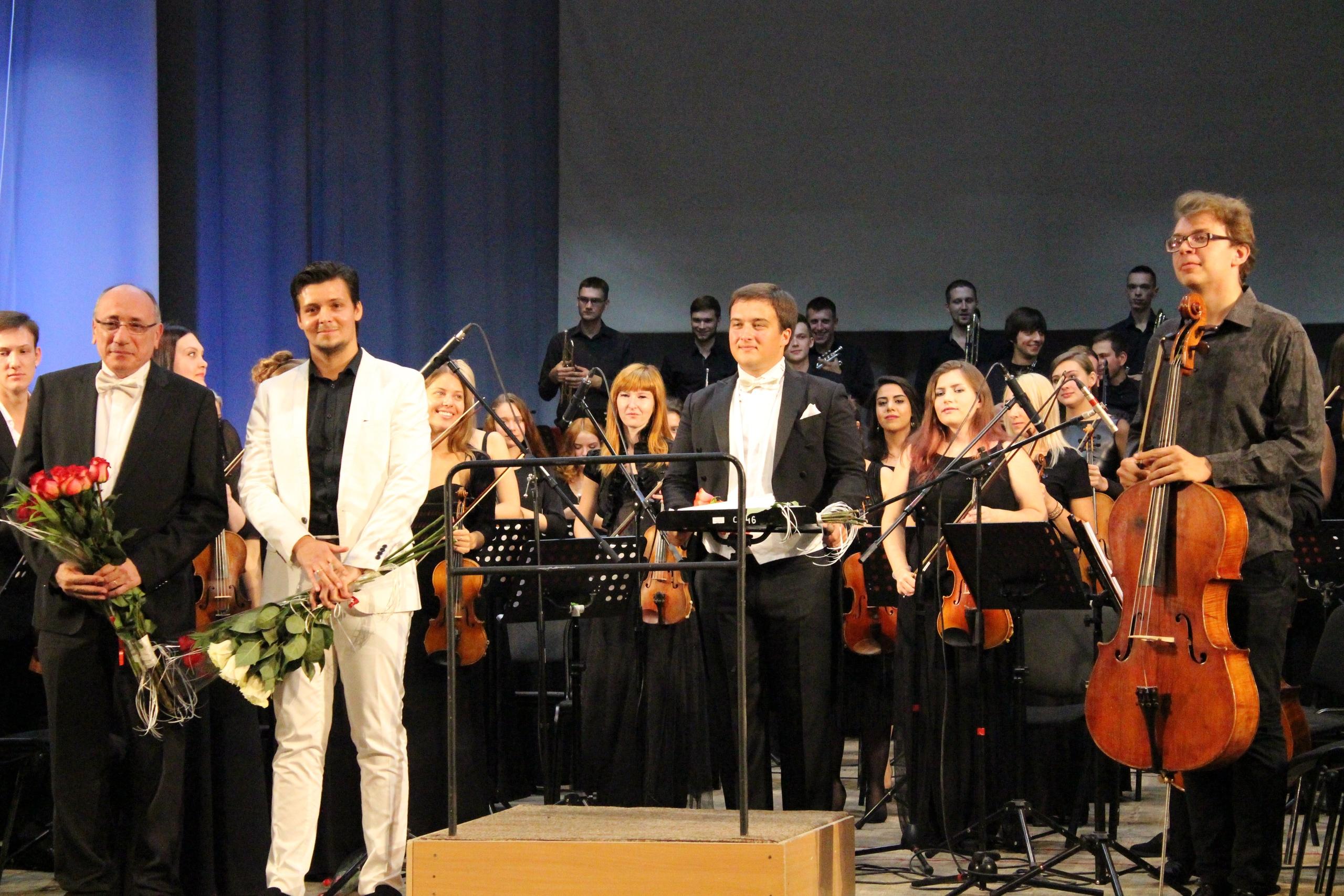 В Тольятти состоялась мировая премьера симфонической сюиты Signum Spei