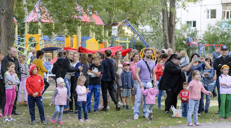 Праздник двора на Московском проспекте