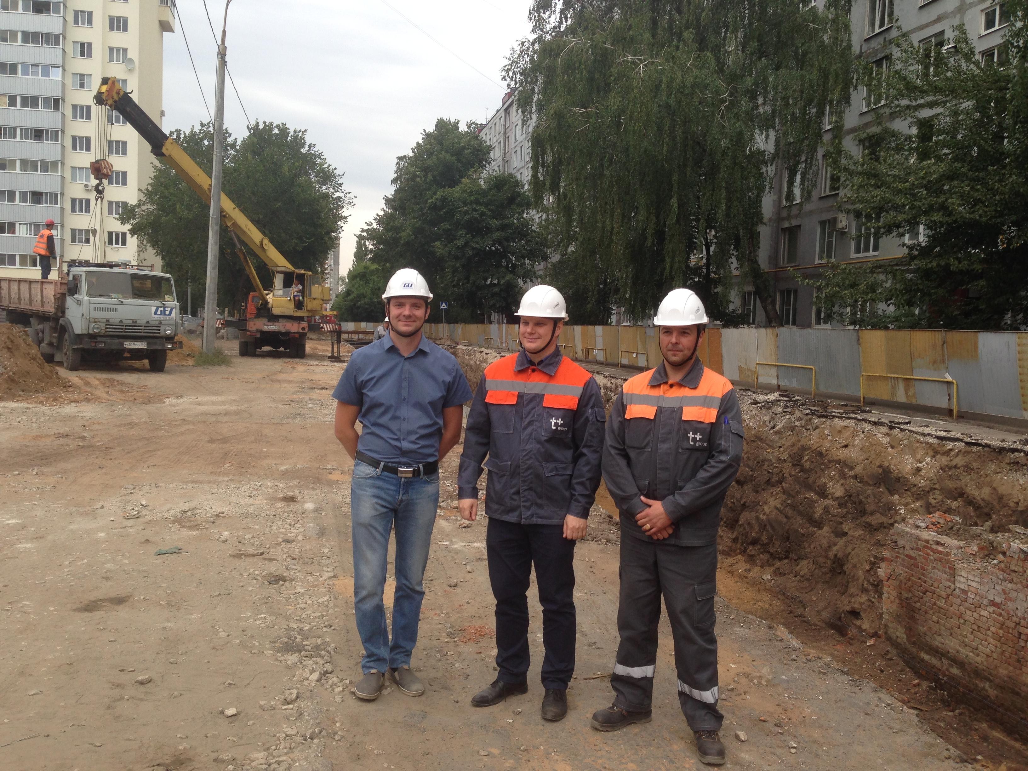 Реконструкция тепломагистрали на ул. Ленинградской подходит к завершению
