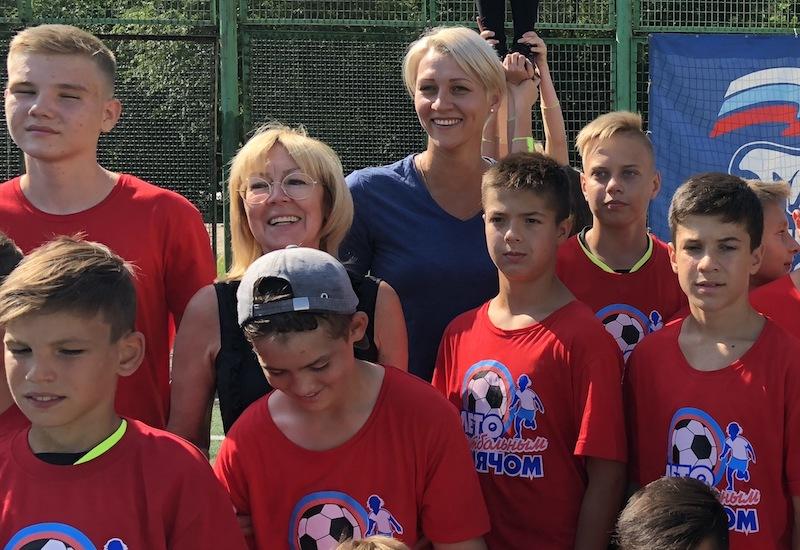 Определились лучшие команды зонального турнира «Лето с футбольным мячом»