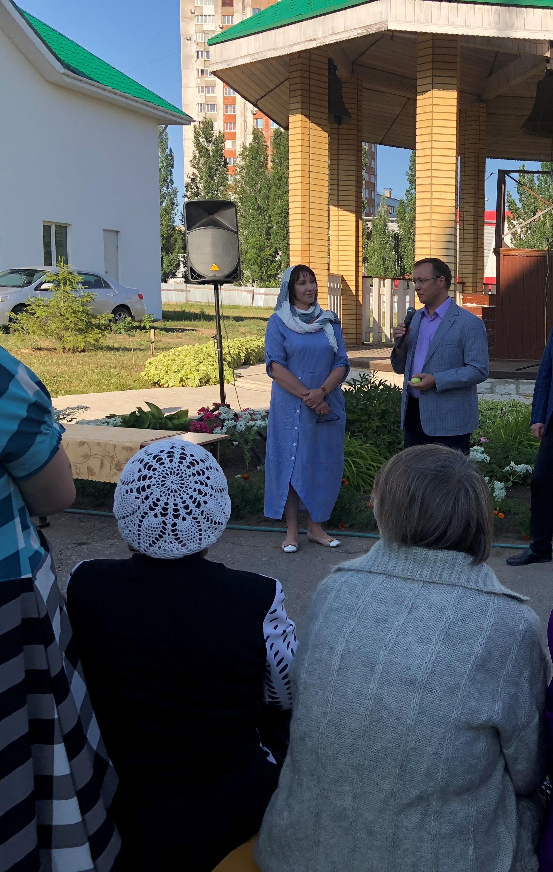 Представители тольяттинского парламента приняли участие в праздновании Яблочного Спаса