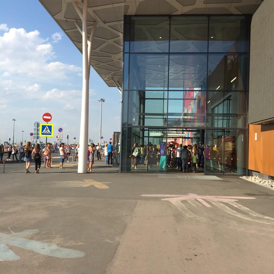В Тольятти эвакуировали ТЦ «Акварель»