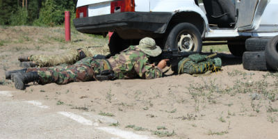 Под Тольятти прошли учения снайперов Росгвардии