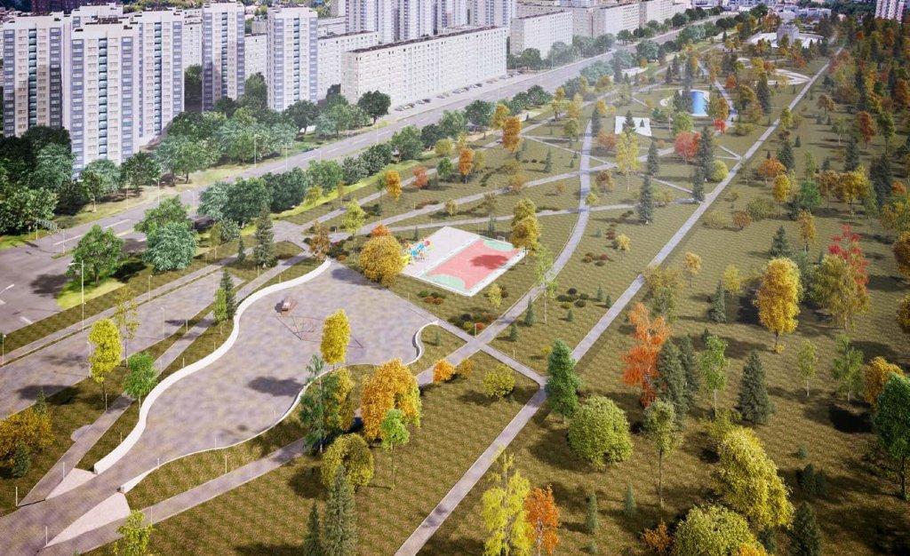 Власти показали, что сейчас происходит на месте строительства сквера к 50-летию ВАЗа