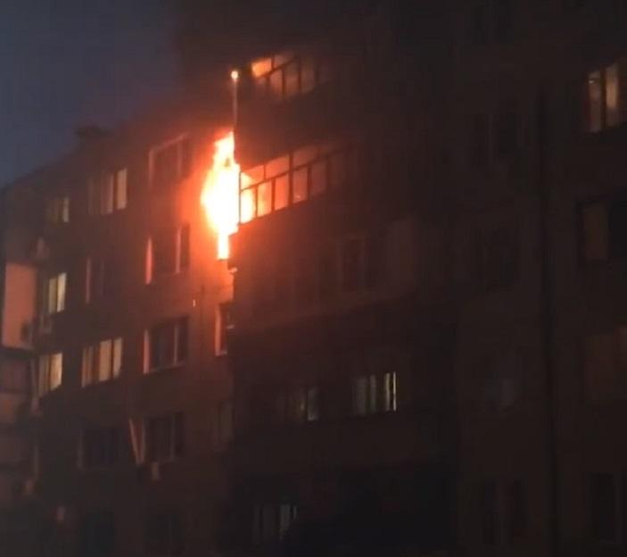 «Жить невыносимо было»: На Московском проспекте сгорела квартира
