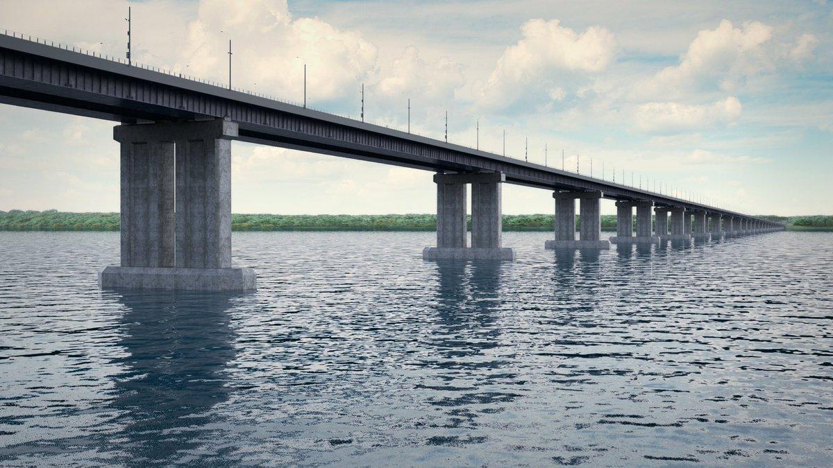 Проекты двух этапов строительства моста у Тольятти должны быть готовы к августу 2020 года