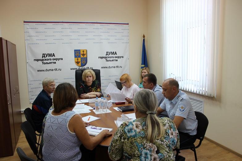 Думу Тольятти поблагодарила уполномоченный по правам человека в Самарской области Ольга Гальцова
